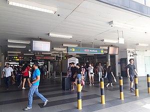 Woodlands MRT Station - Exit A of Woodlands MRT station