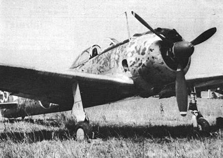 The Nakajima Ki-43 Hayabusa was a single-engined land-based fighter used by the Imperial Japanese Army Air Force in World War II Nakajima Ki-43-II.jpg