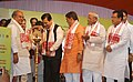 Narendra Singh Tomar and the Chief Minister of Assam, Shri Sarbananda Sonowal launching the Clean Up action plan for Kamakhya Temple as a part of Swachh Bharat Mission.jpg