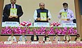 Narendra Singh Tomar releasing the publication, at the Award Distribution function in recognition of Effective Initiatives in Rural Development, in New Delhi.jpg