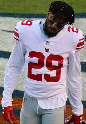 Nat Berhe - Berhe with the New York Giants in 2017.