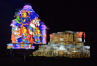 Konark Sun Temple - Light and Sound show in Konark Temple.