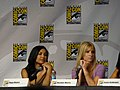 Naya Rivera & Heather Morris (4852874938).jpg