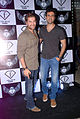 Neil Nitin Mukesh,Harman Baweja grace F-Bar launch 01.jpg
