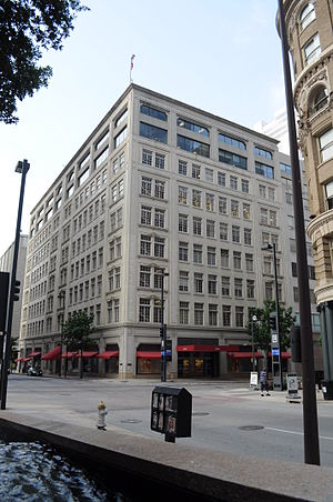 Neiman Marcus - The Neiman Marcus Building is the headquarters and flagship store in Dallas, Texas.
