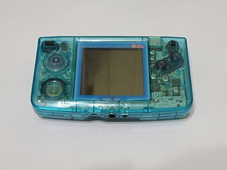 Neo Geo Pocket Color - A blue New Neo Geo Pocket Color, a translucent Japan-only variant