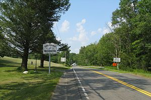 Washington, Massachusetts - Entering Washington