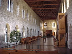 Interior of New Melleray Chapel