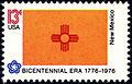 New Mexico Bicentennial 13c 1976 issue.jpg