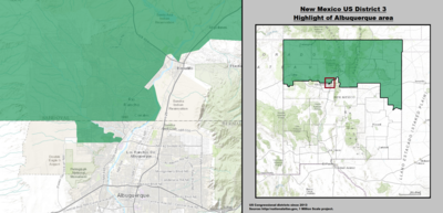 New Mexico's 3rd congressional district - since January 3, 2013.