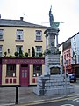 New Ross, Matthew Furlong statue and The Tholsel Inn - geograph.org.uk - 270017.jpg