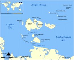 Carte des îles de la Nouvelle-Sibérie.png