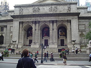 Smallville (season 3) - The New York Public Library lent its interior to the Smallville crew so that they could film Christopher Reeve's scenes.
