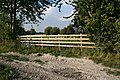 New fence on the Bridleway - geograph.org.uk - 989018.jpg