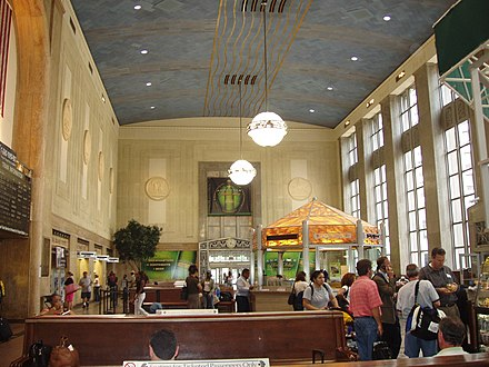 Newark Penn Station Newark Pennsylvania Station interior.jpg
