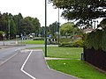Newcastle Road-A693 roundabout from Newcastle Road - geograph.org.uk - 242779.jpg
