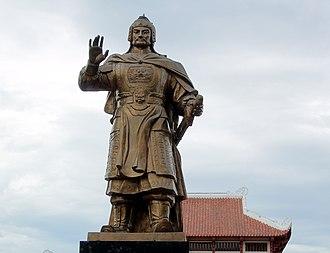 Nguyễn Huệ - Statue of Emperor Quang Trung.