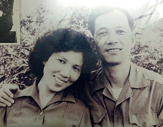 Nguyễn Hữu An - Nguyễn Hữu An and wife, in North Vietnam.