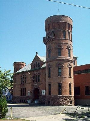 Isaac G. Perry - Niagara Falls Armory, Niagara Falls, New York