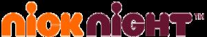Nickelodeon (Germany) - Nicknight Logo