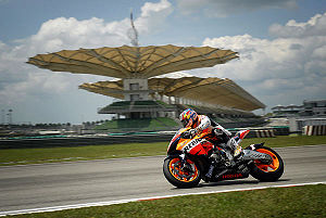 Sepang District - Image: Nicky Hayden 3