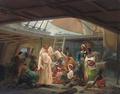 Niels Simonsen - De tilfangetagne velsignes - 1838.png