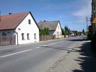 Stadła Village in Lesser Poland, Poland