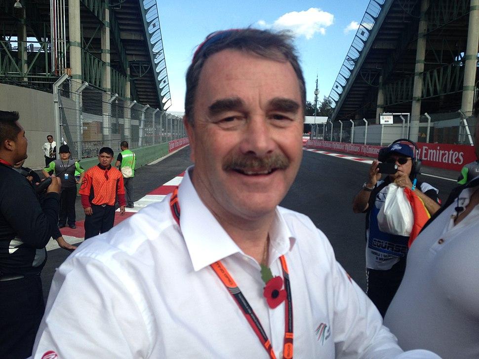 Nigel Mansell - Mexican Grand Prix 01