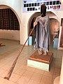 Niger, Dosso (38), museum, kakaki-player.jpg