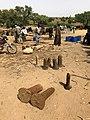 Niger, N'Gonga (13), sale of salt pillars at weekly market.jpg