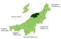 Niigata in Niigata Prefecture.png