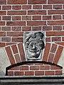 Nijmegen - Hoofd gemaakt door Egidius Everaerts op de gevel van Huis Heyendaal 07.jpg