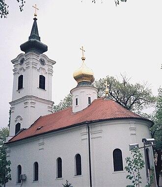 Stari Grad, Novi Sad - Image: Nikolajevska crkva