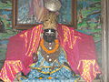 Nimbarkacharya's holy icon at Ukhra Mahanta Asthal(West Bengal).JPG