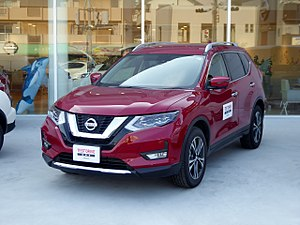 Nissan X Trail   Facelift (2017)