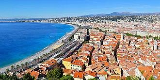 Alpes-Maritimes - Image: Nizza Côte d'Azur
