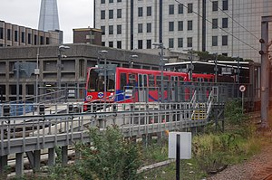 No 80 at Tower Gateway DLR station.jpg