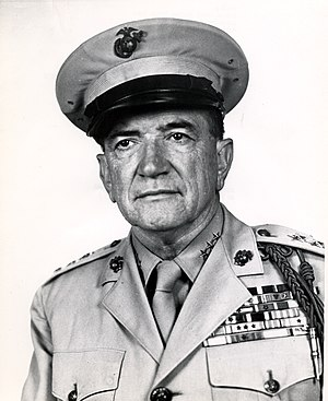 Alfred H. Noble - General Alfred H. Noble, USMC