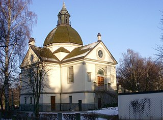 cemetery of Metropolitan Stockholm; located in Solna, Sweden