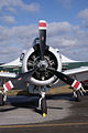 North American T-28B Trojan Marines NJ300H Engine TICO 13March2010 (14619425633).jpg