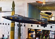 North American X-15 National Air and Space Museum photo D Ramey Logan