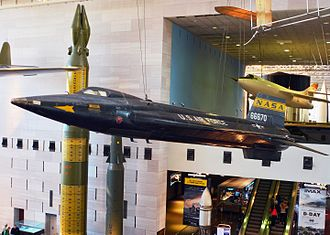 North American X-15 - X-15 at the National Air and Space Museum in Washington, D.C.