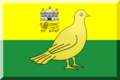 Norwich City footie flag.png