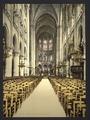 Notre Dame, interior, Paris, France-LCCN2001698530.tif