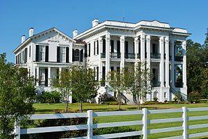 Nottoway Plantation - Plantation big house, Nottoway