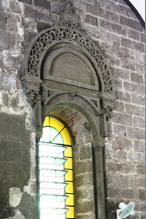 Nuestra Señora de Gracia Church - The window design.