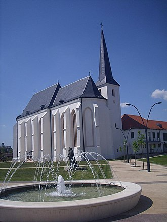 Nyírbátor - Image: Nyírbátor hungary minorite church 2