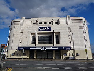 O2 Apollo Manchester music venue and former cinema in Ardwick, Manchester, England