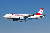 OE-LBS - A320 - Austrian Airlines