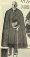 O Presidente Teixeira Gomes envergando a capa de estudante, aquando da sua visita à UPorto - Ilustração Portugueza (16Fev1924).png